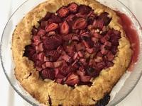 中東風料理の会(続)  ♪苺とルバーブのタルト♪ - やせっぽちソプラノのキッチン2