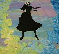 フラガール ボーダーつけ - ほっと一息・・~Sakura's Hawaiian QuiltⅡ