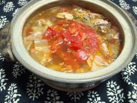 鯖缶&キャベツのトマト鍋 - Minha Praia