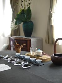 6月のおもてなしの中国茶レッスン - お茶をどうぞ♪