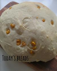 コーンパンの朝ごパン - 料理研究家ブログ行長万里  日本全国 美味しい話