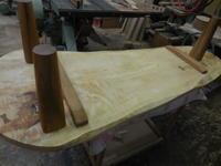 ローテーブルを作り替えます。 - 手作り家具工房の記録
