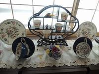 少しシノワな雰囲気に - BEETON's Teapotのお茶会
