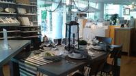 Crate & Barrel☆初夏のテーブルセティング - Michiko's Tea & Protocol-Southern Style Class「紅茶&プロトコールエチケット」「暮らしをデザインするアンティークのあるインテリア」実践Styleで学ぶ教室