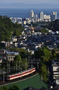 神戸電鉄 1100系 鵯越俯瞰 - レイルウェイの記憶