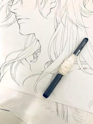 カラー線画試行錯誤中 - 山田南平Blog