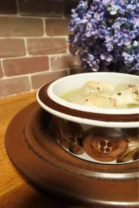 鶏肉の白いスープ - ヒトリゴトゴハン