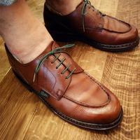 """【オーダー靴ひも】パラブーツには""""緑""""の紐を! - Shoe Care & Shoe Order 「FANS.浅草本店」M.Mowbray Shop"""