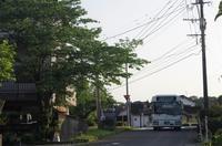 湯田車庫 - リンデンバス ~バス停とその先に~