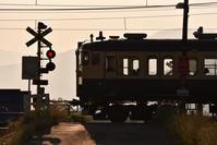 しなの鉄道 115系 千曲川堤防南踏切 - レイルウェイの記憶