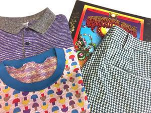 「 キノコ 、虎 、千鳥 、亀 」 - GIANT BABY    used&vintage clothing & culture & happy