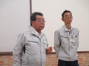 宮下隆好さんご定年のセレモニー - もの作りの裏側 太陽電機株式会社ブログ