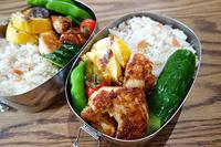今週の弁当とドミノランチ - マイニチ★コバッケン