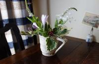 夏の草花 - 糸巻きパレットガーデン