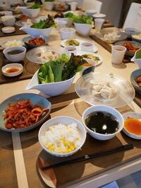 日曜日のクラスにお席ご案内できます - 今日も食べようキムチっ子クラブ(料理研究家 結城奈佳の韓国料理教室)