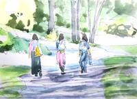 高原の三人娘 - ryuuの手習い