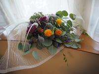 窓辺のスワッグ - グリママの花日記