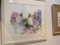 紫陽花の絵 - 絵のある生活ページワン