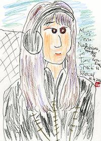 伸太郎美女画廊(6)〜賢くて可愛らしいアイドル - 前田画楽堂本舗