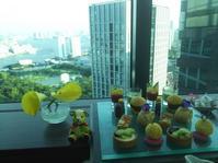 コンラッド東京「TWENTY EIGHT」で仕事の打ち合わせ、その後はAFTERNOON TEAを ! - PETIT POINT CINQ のプチコラム