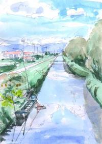諏訪湖へ流れ込む川 - ryuuの手習い