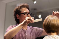 vol.105「菊地 勝の仕事」 - Monthly Live    営業後の美容室での美容師による単独ライブ