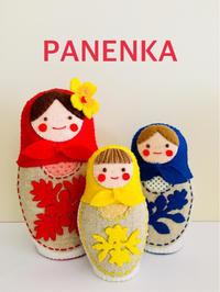ハワイアンマトリョーシカワークショップ - フェルト手芸作家「PANENKA」北向邦子「わたしの毎日」