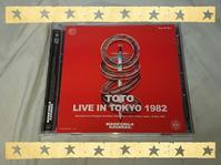 TOTO / LIVE IN TOKYO 1982 - 無駄遣いな日々