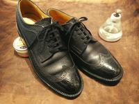 【REGAL】リーガルウイングチップ、シボ革のハイシャイン - Shoe Care & Shoe Order 「FANS.浅草本店」M.Mowbray Shop