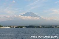 「河口湖から富士山」 - こころ絵日記 Vol.1