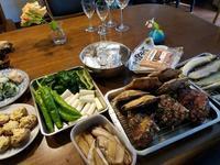 今シーズン初のバーベキュー - 牡蠣を煮ていた午後