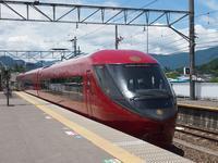6/19河口湖駅、列車と新型オムニバス - 富士急行線に魅せられて…(更新休止中)