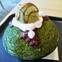 エマックス・クルメ「KOREAN CAFE Bing Su(ビンス)」 - 福岡の抹茶かき氷