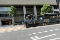 藤田八束の鉄道写真@四国松山での路面電車と松山の街並み、松山城と路面電車のお洒落なコンビ - 藤田八束の日記