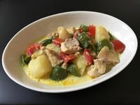鶏と野菜のミルクカレー煮 - ぼっちオバサン食堂