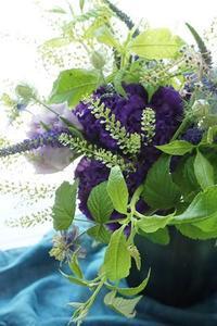アイロニー花でパリスタイルラッシュ(^^♪ - お花に囲まれて