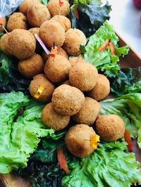 ちょっとジャンクな「ポテトとコーンのコロッケ」 - 玄米菜食 in ニュージャージー