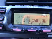 FT-857DMのディスプレイがシマシマ - not in the log.   JG3JLC/JO4KBY/NN1X