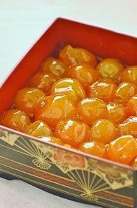 金柑の蜜煮は、まるごとマーマレードみたい。 - 空ヤ畑ノコトバカリ
