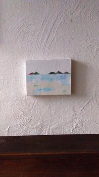 金山藍個展「ひとっとび」7月1日まで - オーガニックカフェたまりばーる
