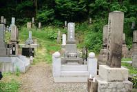 墓じまい半月前の墓参 - 照片画廊