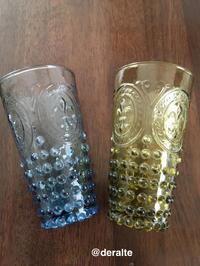 アメリカンビンテージ ガラスのコップ - 大好きな古いもの、日々愛用しているもの。