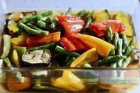 夏野菜の揚げ浸し - マドモアゼルジジの感光生活
