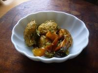 子芋とパプリカのオーブン焼きジェノベーゼ和え - LEAFLabo