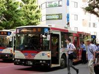 2018年夏〜関東バスB1122健在 - 黄色い電車に乗せて…