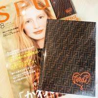 SPUR 8月号 付録 FENDI FF ロゴ ノートブック - Beautiful Days~アルムダウン ナルドゥル~
