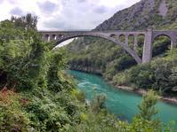 こんなところに地味な世界一が。ソルカン橋。 - コントリ!(コントラバスでトリエステ) ヌオーヴォ!