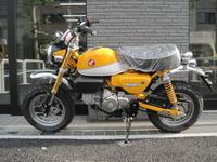 モンキー125の入荷状況 - バイクの横輪
