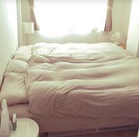 夏用の掛け布団にチェンジ - 神戸芦屋Marikaのインテリア&整理収納ブログ