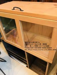 ガラスケース - *田園菓子のおくりもの工房…  里桜庵Riou-an